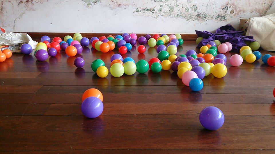 Colourful balls