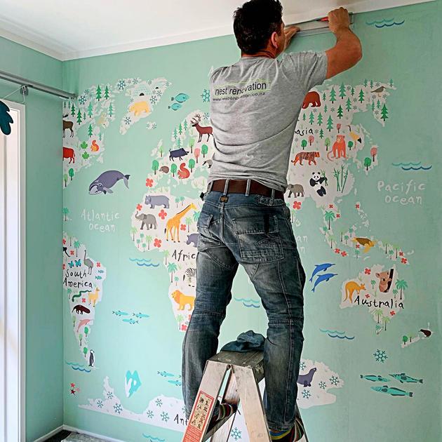 Custom ordered wallpaper