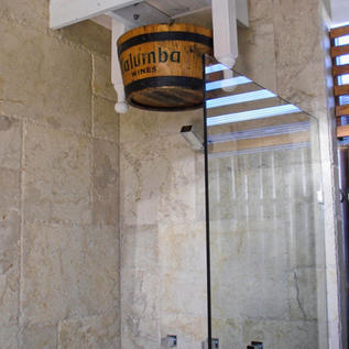 Creative shower solution