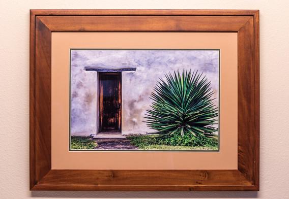Chappel Door - Framed & Double Mat