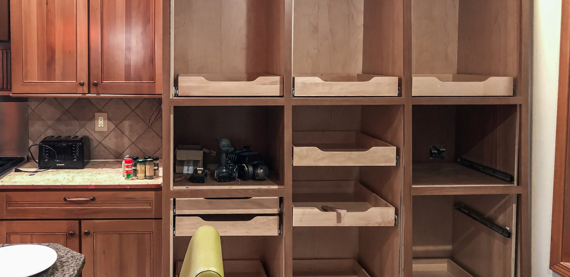 Kitchen Cabinet Boxes Installed.jpg