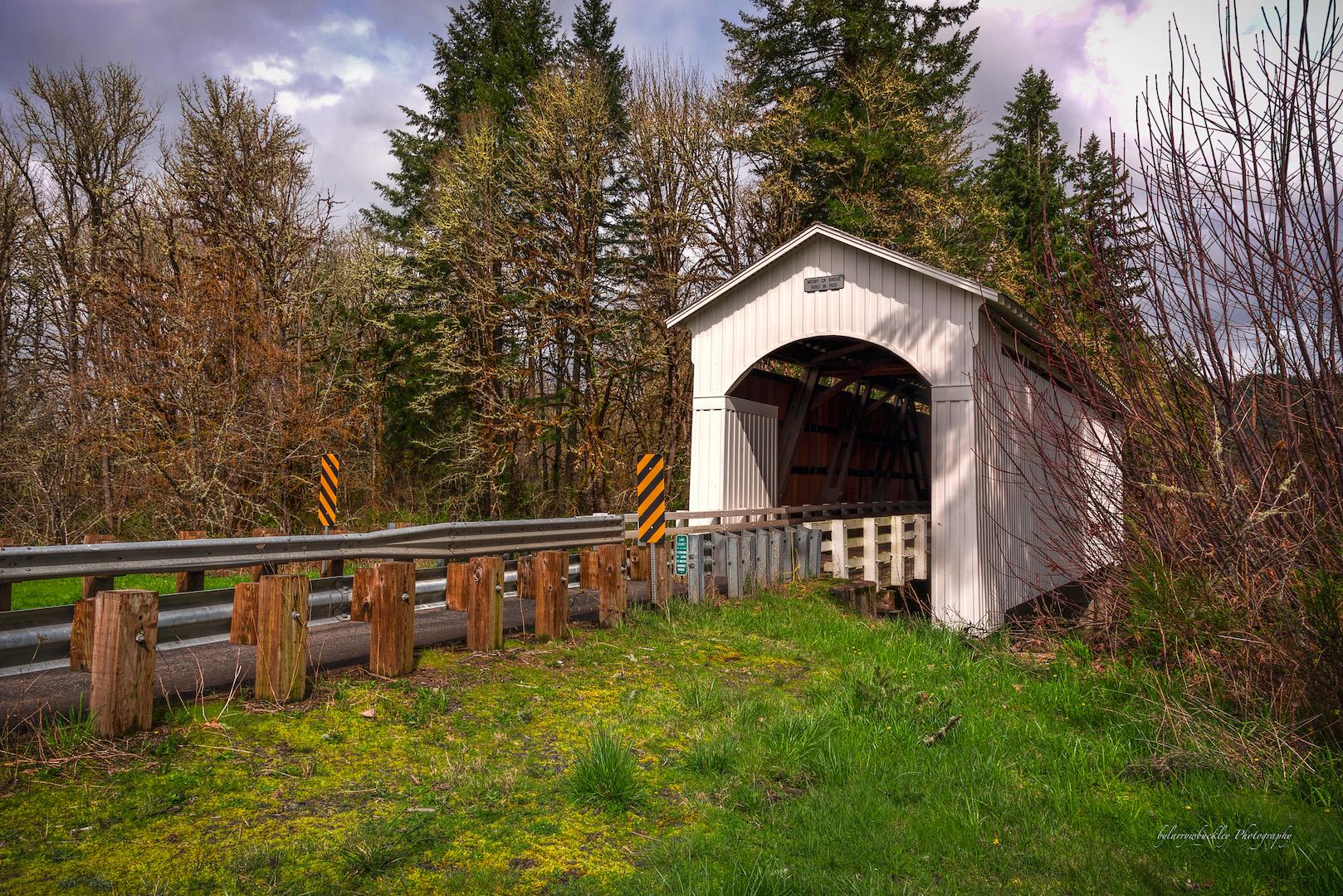 Mosby Creek Covered Bridge