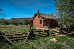 Wood Brick Home