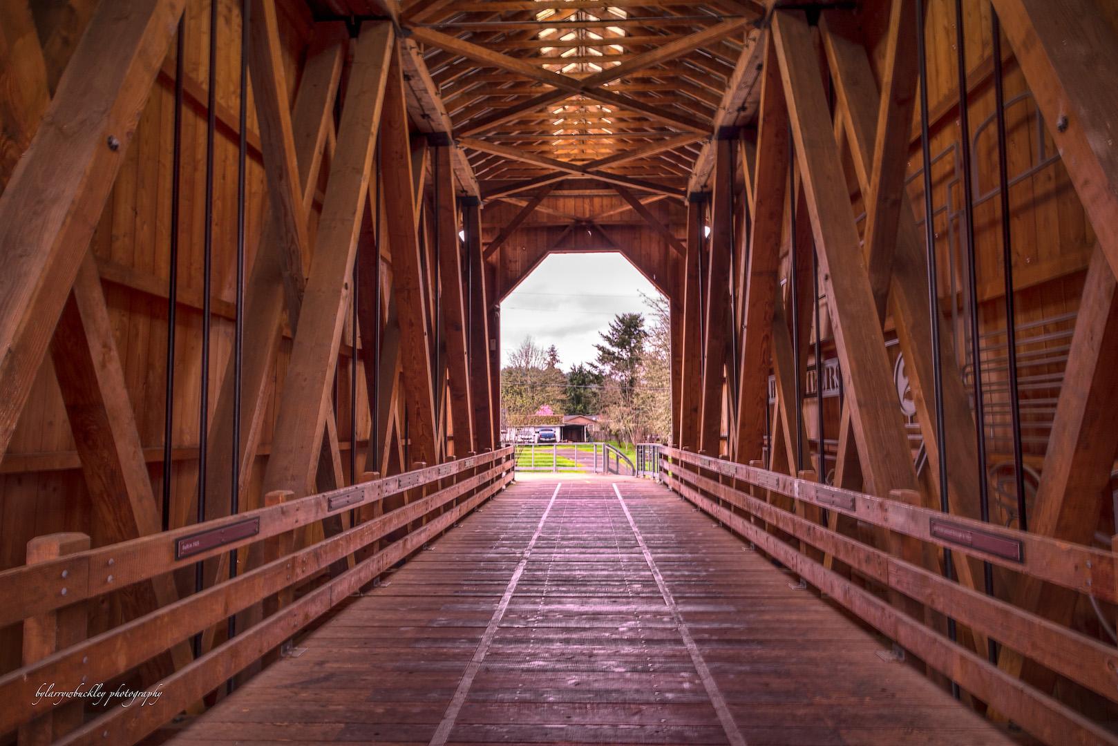 Howe Truss Bridge