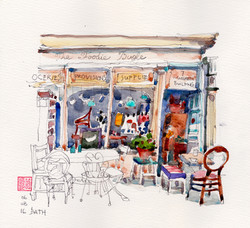 Bath - The Foodie Bugle cafe