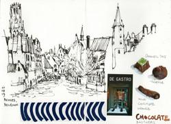 Bruges Sketchbook