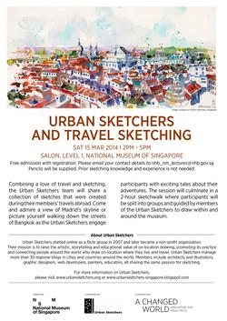 Urban Sketchers and Travel Sketching