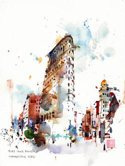 NYC - Flat Iron building