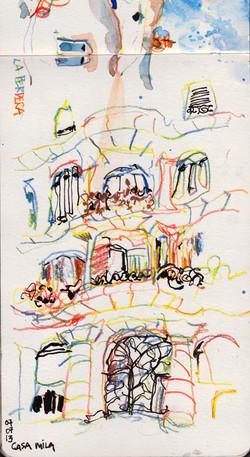Casa Mila 2 - BARCELONA