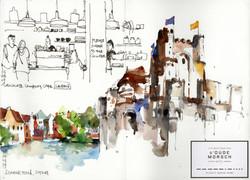Ghent & Leiden Sketchbook