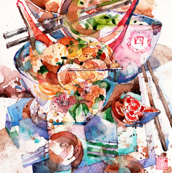 Bowl of Fishball Noodle Goodness