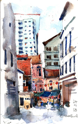 Chinatown back alley
