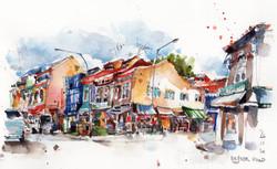 Desker Road & Kampong Kapor Road