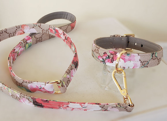 Vegan Leather Leash for Dogs. Italian Design