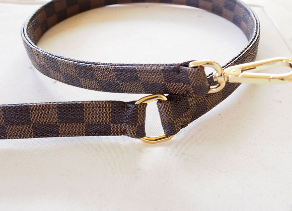 Vegan Leather Leash for Dogs. French Design
