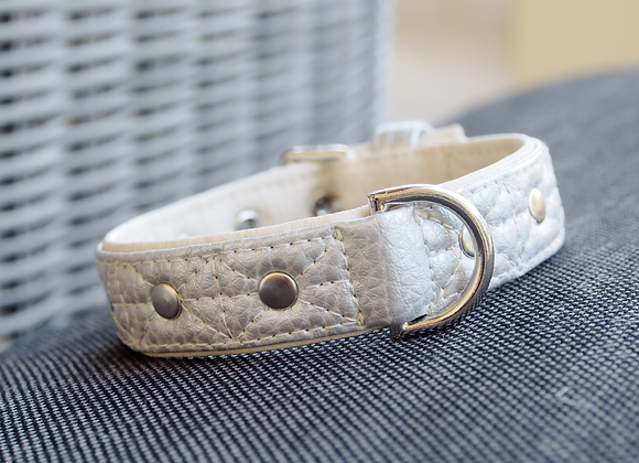 Collar Quilted Silver