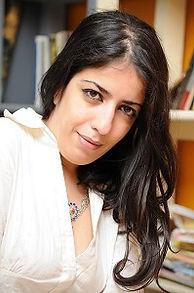 Sarah Haidar portrait blast