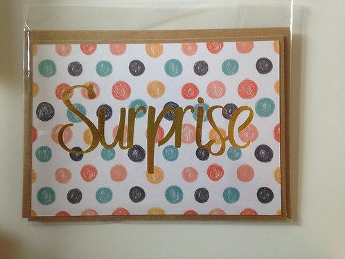 """Carte """"Surprise"""""""