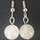 Thumbnail: Boucles d'oreilles - quartz rose