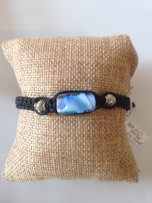 Bracelet perle en verre