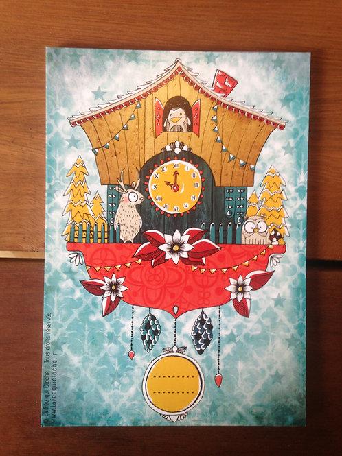 Cartes illustrées - Noel