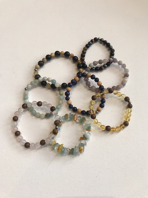 Bracelet enfant - pierres naturelles