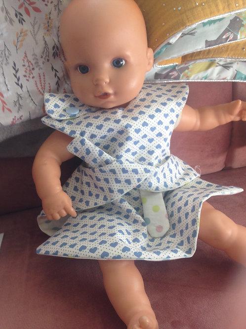 Robe réversible - poupée, 5 autre modèles