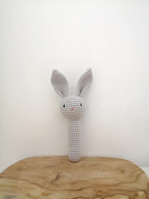 Hochet lapin - crochet