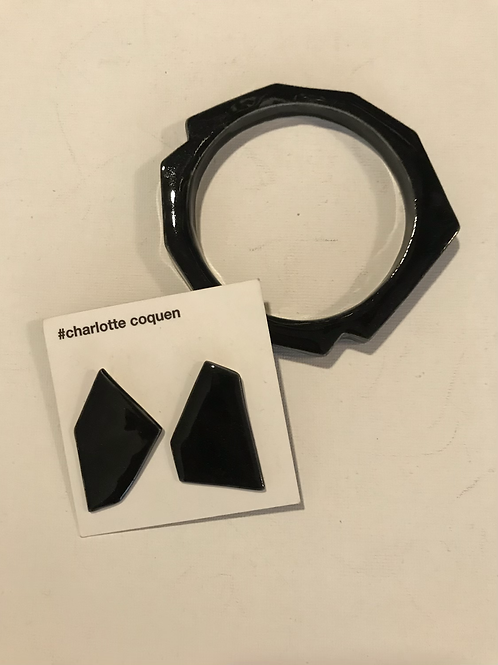 Duo bracelet et boucles d'oreilles