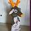 Thumbnail: marionnette à gaine - cerf