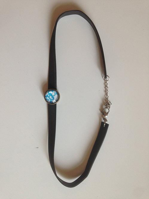 """Collier-bracelet """"chambre à air"""""""