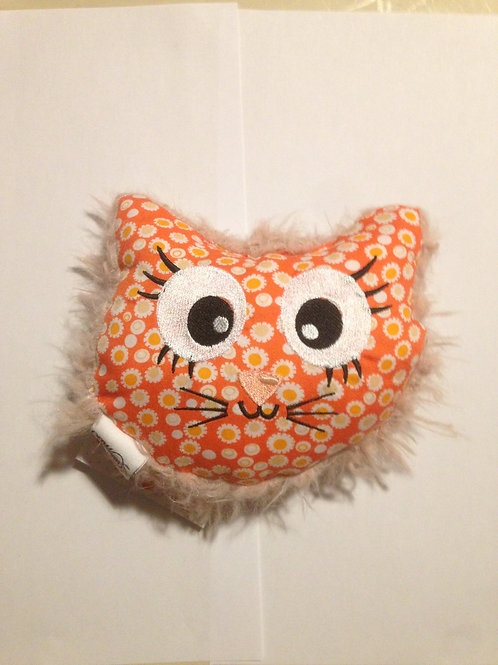 Mini coussin chat