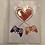 """Thumbnail: Carte imprimée """"St Valentin"""""""