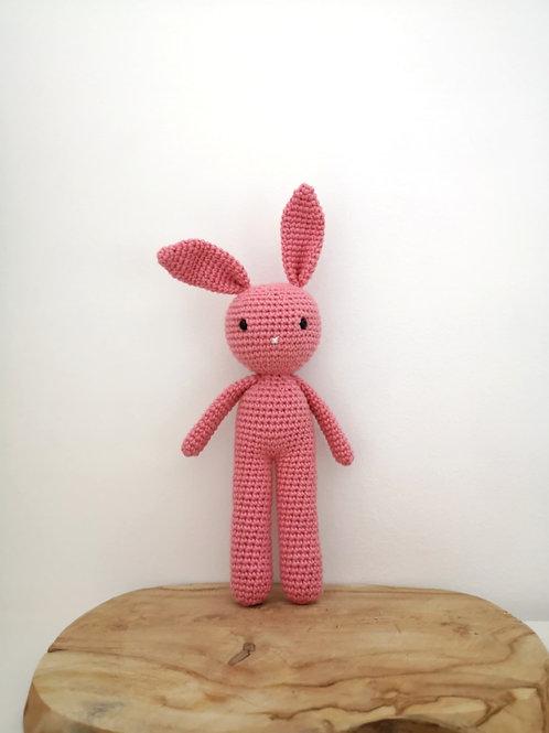 Lapin doudou - crochet