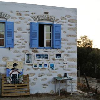 Studio on Amorgos island in Greece