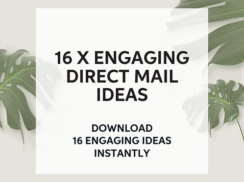 16 x Engaging DL Ideas