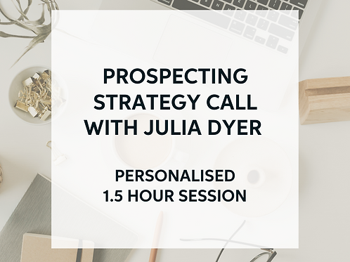 Prospecting Strategy Call