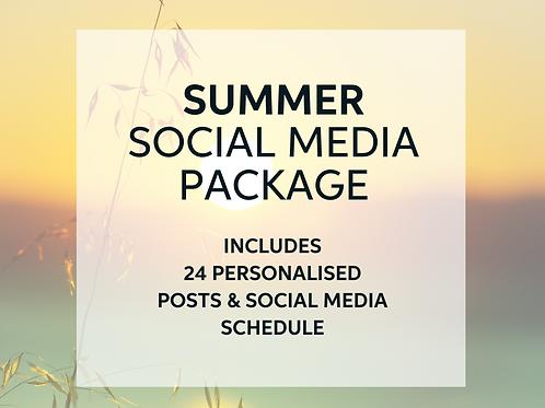 Summer Social Media Package
