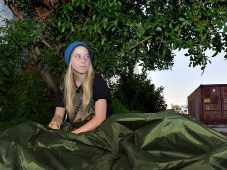 Award Winning Backpack Beds for the Homeless
