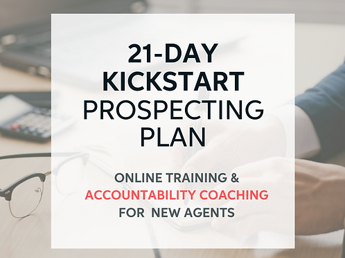 21-Day Kickstart Prospecting Plan