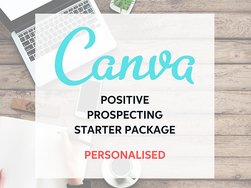 Canva.com Starter Content Library Kit - Personalised