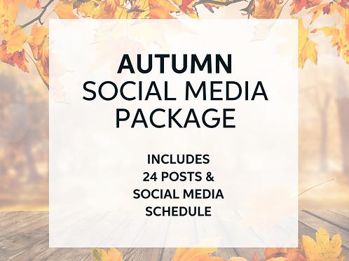 Autumn Social Media Package
