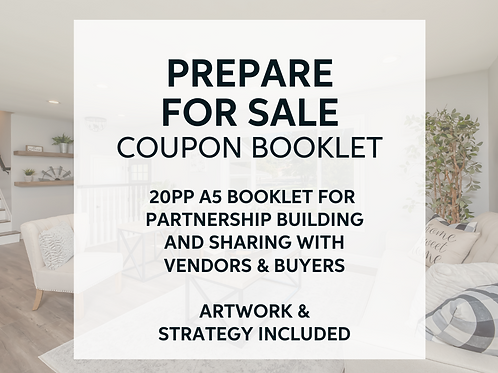 Prepare for Sale Partnership Coupon Booklet