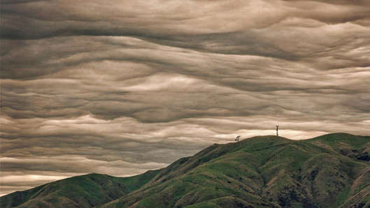 Clouds on the Tararuas