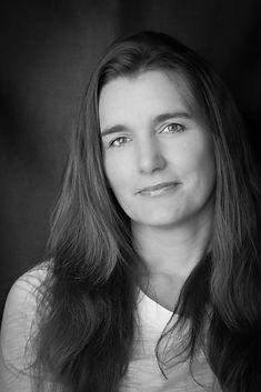 artist profile self portrait photographer black and white