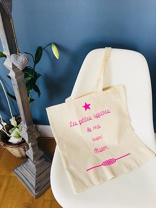 """Tote bag """"Les petites affaires de ma (super) ..."""