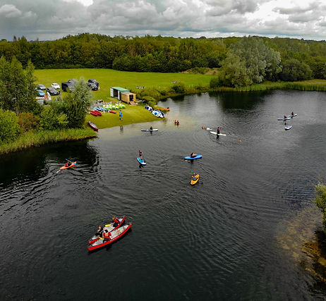 Cotswold Water Park Hire launch area