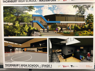 Look at our amazing future building!