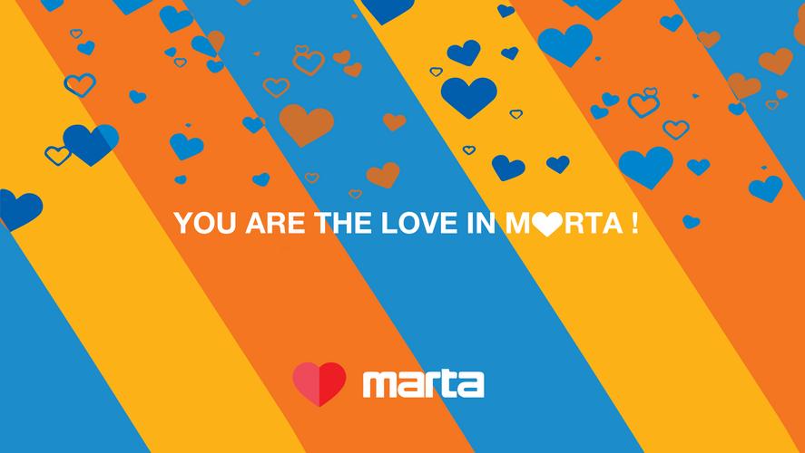 You are the love in marta