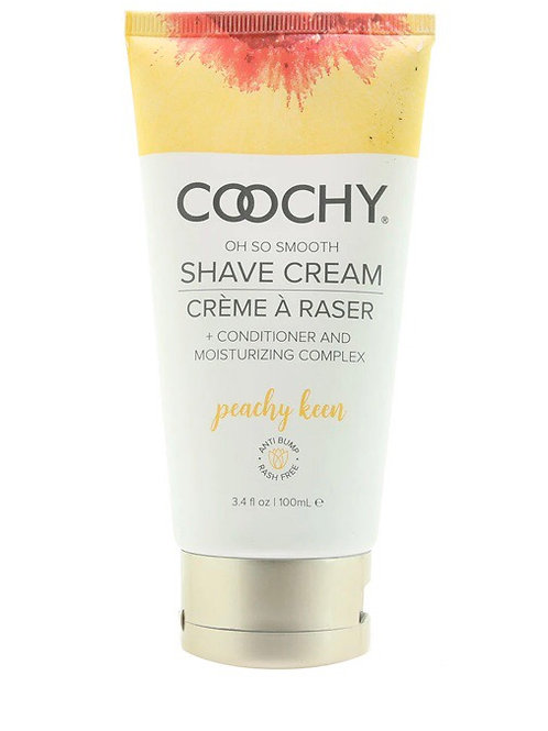 Coochy Oh So Smooth Shave Cream Peachy